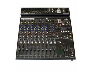 Peavey PV 14 AT Mixer w/ Digital FX, Bluetooth & Autotune - PV14AT - Brand New