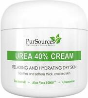 Skin Smoothing 40% Urea Foot Cream for Thick & Cracked Skin (4oz)
