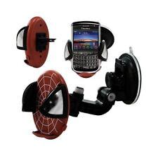 Support universel auto 2en1 pour BlackBerry Tour 9630 motif toile couleur rouge