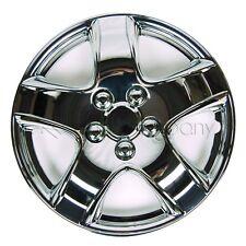 """4 Chrome 14"""" Hubcaps Full Wheel Rim Covers w/Steel Retention Clips - KT-998-14"""