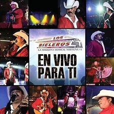 FREE US SHIP. on ANY 3+ CDs! ~Used,Very Good CD Rieleros Del Norte: En Vivo Para