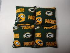 4 Cornhole Bag Set Corn Hole Toss Green Bay Packers GR