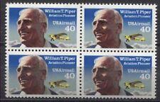 USA 2135 4er Flugpioniere William T. Piper, Flugzeugkonstrukteur Piper J-3 Club