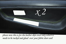 GREEN STITCH FITS NISSAN 200 SX S13 88-93  2 X DOOR CARD TRIM COVERS ONLY