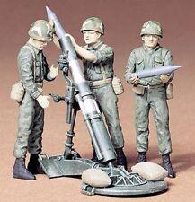 Tamiya   1:35 US 107mm MORTAR CREW  TAM35119-NEW