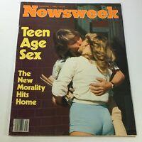 VTG Newsweek Magazine September 1 1980 - Teen Age Sex / Newsstand / No Label