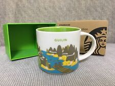 New Starbucks 2018 China YAH Guilin You Are Here 14oz Mug