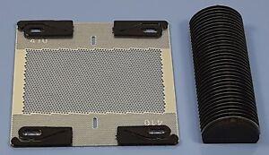 Kombipack 410 Scherblatt + Messerblock Typ 410 passend für Braun micron L 5410