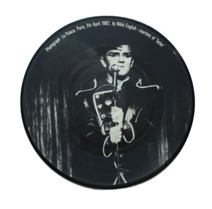 Visage - Night Train - Limited edition 7 inch vinyl picture disc
