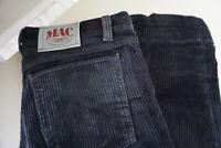 MAC Herren Men Kord Jeans Hose 32/36 W32 L36 Schwarz TOP ap17