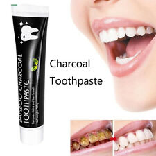 Charcoal Toothpaste Bamboo Active Natural Fresh Polish Teeth Whitening-.