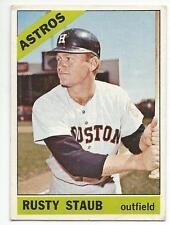 RUSTY STAUB 1966 Topps Baseball card #106 Houston Astros Mets Expos EX-
