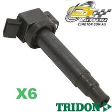 TRIDON IGNITION COIL x6 FOR Lexus  ES300 MCV20R 08/98-10/01, V6, 3.0L 1MZ-FE