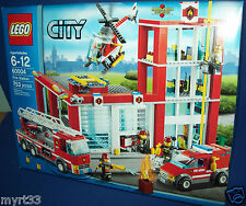 LEGO 60004 Fire Station City Lego - NIB sold out