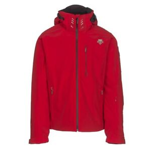 NEW! Descente Regal Insulated Ski Snowboard Jacket D7-8620 Red-Black X-Large