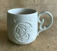 1 Coffee Mug Cup Initial G Creamy White Mudpie Kitchen Collectible