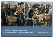 Luxemburg  Eerste wereldoorlog WWI    blok     postfris/mnh