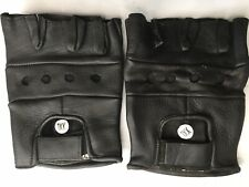 Bike & Weight Lifters Leather Gloves - Size XXL - NEW