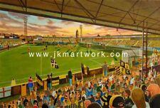 York Street Stadium Fine Art A3 Print - Boston United Football Club