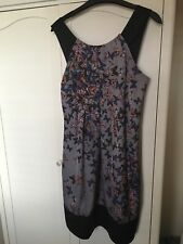 Ladies Ted Baker Butterfly Dress Size 2 Vgc