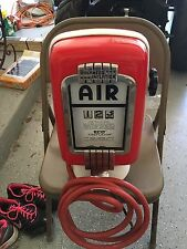 Eco Air Meter Tire Inflator Vintage Gas Station