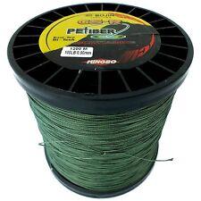 GSR PEFIBER BRAID FISHING LINE 100LB 1200M GREEN 8 STRAND ELECTRIC REELS 50W 80W