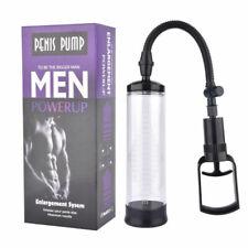 Male Penis Vacuum Pump Manual Penis Enlarger Enhancer Bigger Growth Pumps Sleeve