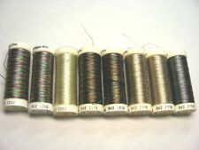 SULKY Thread Lot - Lot of 8 Spools - Sulky Variegated Rayon Threads