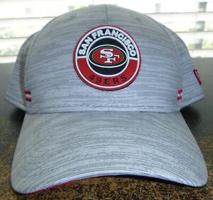 San Francisco 49ers New Era 2020 NFL Sideline Official 59FIFTY Flex Fit Hat L/XL