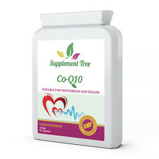 Co-Enzyme Q10 CoQ10 100mg 90 Capsules - Antioxidant, Heart, Energy Supplement