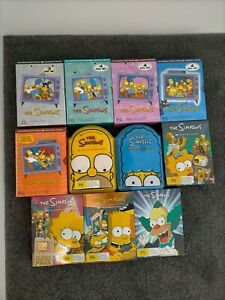 The Simpsons Seasons 1 2 3 4 5 6 7 8 9 10 11 Animated Comedy Tv Show Series