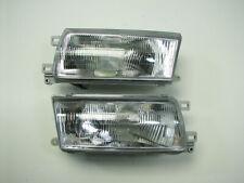 93-94 Nissan Sentra Headlights Head Lights Lamps LH RH Pair