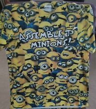 Universal Studios Kids Top Tshirt / Size:8/10 / Minions/ Better Than Excellent