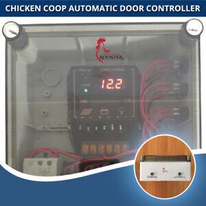 ChickenSentry Chicken Coop Automatic Door Opener Solar or Mains Power for 3 Door