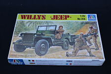 XZ097 ITALERI 1/35 maquette voiture 314 willy jeep 1/4 ton utility truck