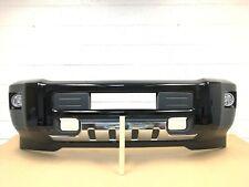 2015-2019 chevy silverado 2500-3500 front bumper with 4 sensors (black color) #4