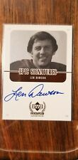1999 Upper Deck Century Legends Epic Signatures Len Dawson Card