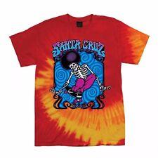 Santa Cruz Peace Ride Skateboard T Shirt Blaze Tie Dye Xxl