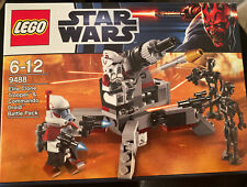 Lego Star Wars 9488 Elite Clone Trooper and Commando Droid Battle Pack - NEW