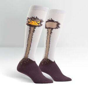 Sock It To Me Women's Knee High Socks - Ostrich (UK 3-8)