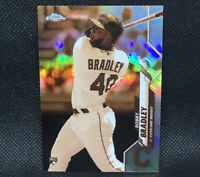 2020 Topps Chrome Bobby Bradley Sepia Refractor RC Cleveland Indians Rookie #3