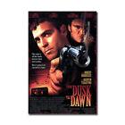 From Dusk Till Dawn Movie Wall Art Poster Classic Film Print Bedroom Decor 24x36