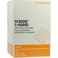 OPSITE IV3000 6x7cm transparente Kanülenfixierung 100St Verband PZN 7478153