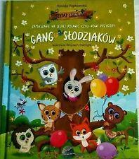 książka  Gang slodziaków   Zamieszanie na leśnej polanie