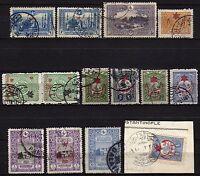 #939 - Turchia - Lotto di 14 francobolli - Usati