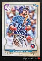 Kyle Schwarber 2020 Topps Gypsy Queen Logo Swap Chicago Cubs Baseball Card #170