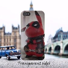 Deadpool Pikachu Pokemon Phone Case Cover Fits iPhone, Samsung models