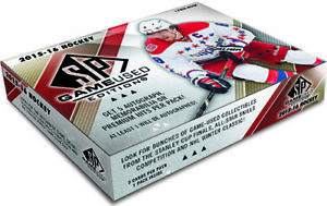 2015-16 Upper Deck SP Game-used Edition Hockey Trading Card Pack BB012564219