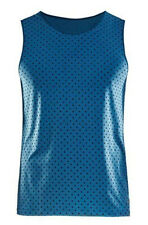 Functional Shirt CRAFT Essential Singlet M, Men's, Sleeveless, Blue Black