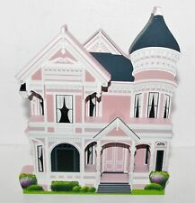 """Shelia's Collectibles """"Painted Lady Pink Cottage�"""